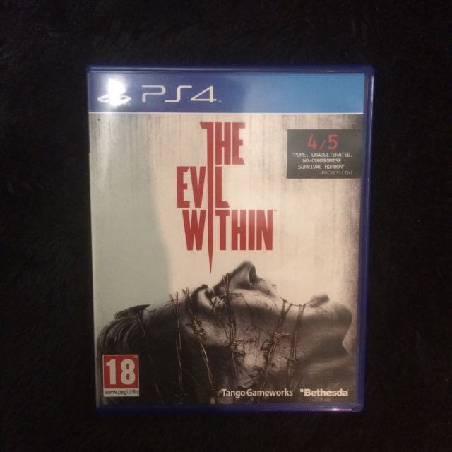 Kaset PS4 The Evil Within (used)