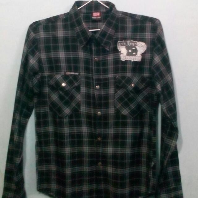 Kemeja Flanel Real One Size S