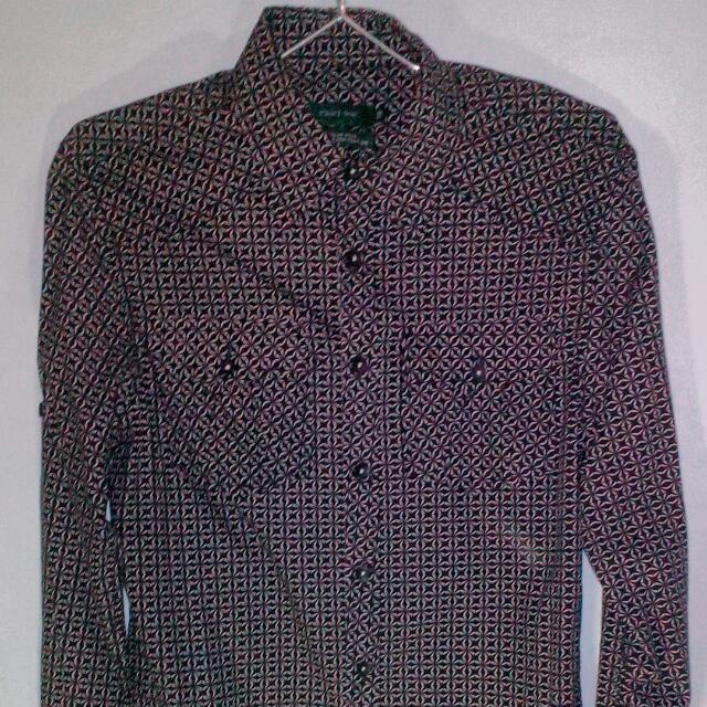 Kemeja Panjang Point One Size M