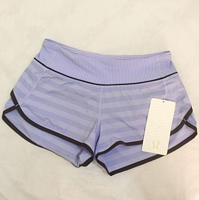 Lululemon Speed Shorts Size 2