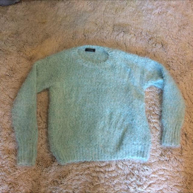 Mint Blue Jumper