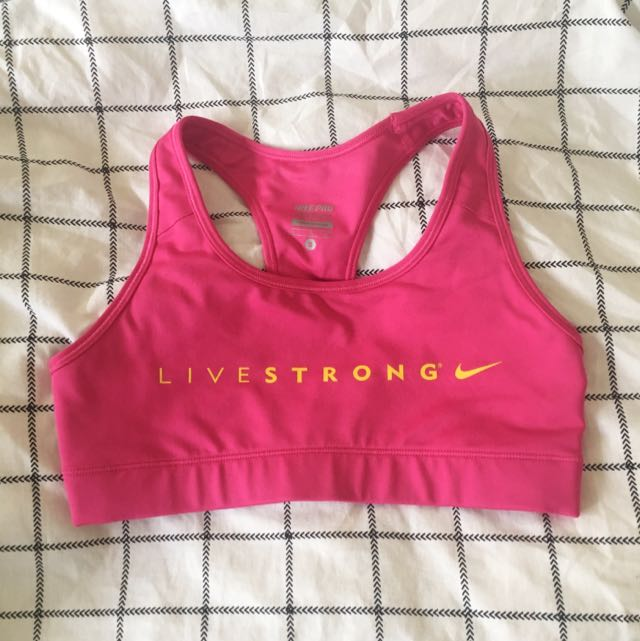NIKE LIVESTRONG Sports Bra Size Small