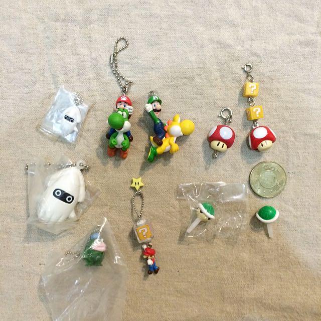Nintendo 任天堂超級瑪利歐扭蛋吊飾