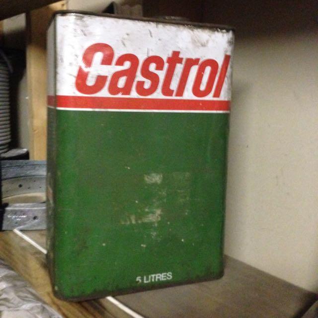 Old Castrol Merchandise