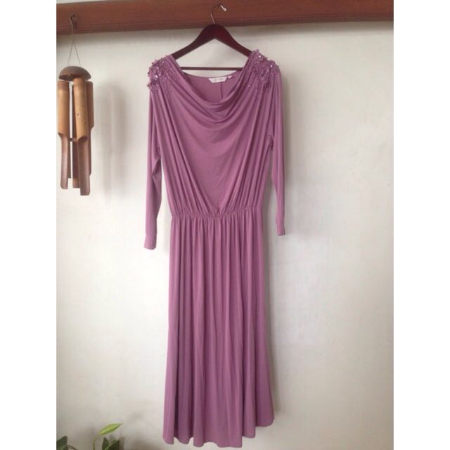 Omara - Longdress Purple (Baju Muslim)