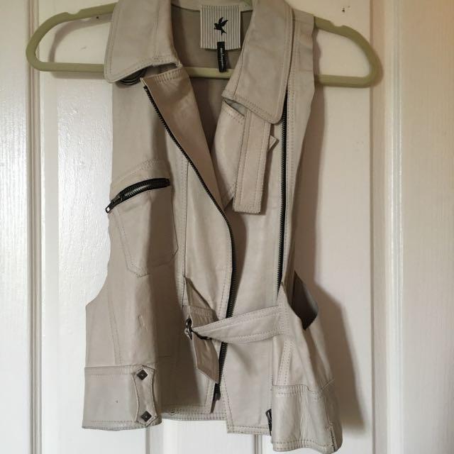 One teaspoon Leather Vest