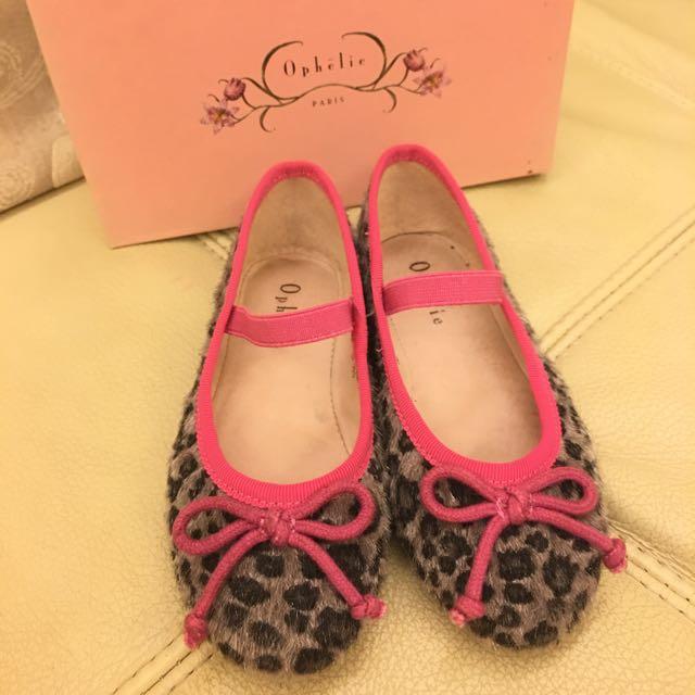 百貨公司正品Ophelie 芭蕾舞童鞋 miss sofi旗下品牌