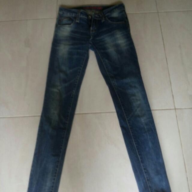 Original Logo Jeans Size 27 S