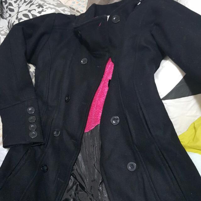 Overcoat (Black) Size Small