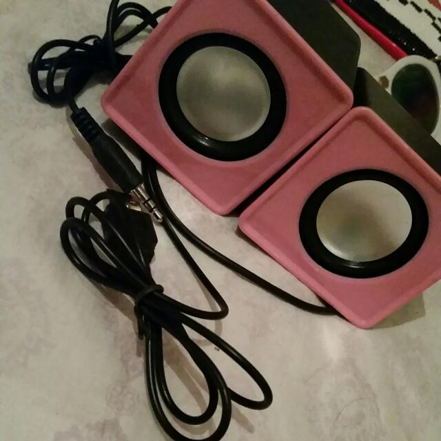 Pink Speakers