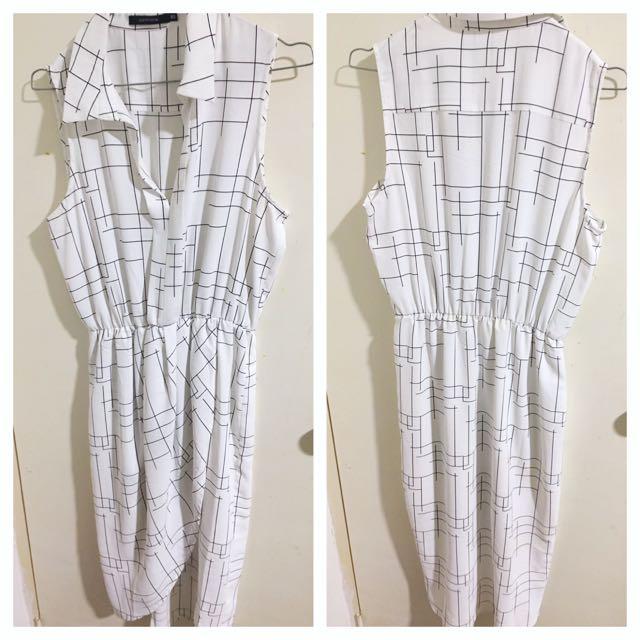 Portmans Sz 10 Midi Dress