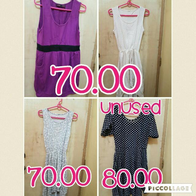 pre-loved and unused dress