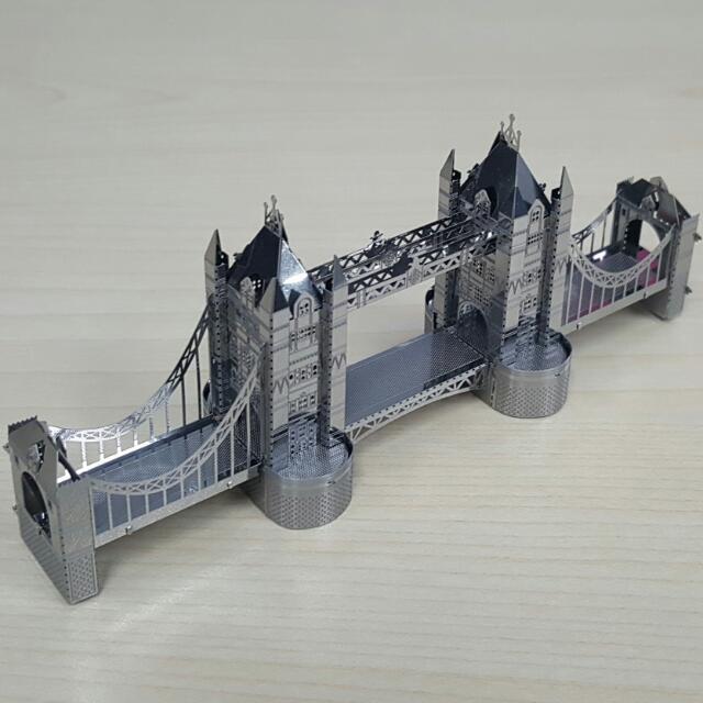[Pre-loved] Londo Bridge / Tower Bridge / 3D Metal Works Model