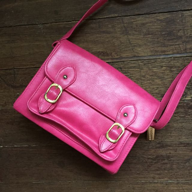 Primadonna Pink Leather Bag