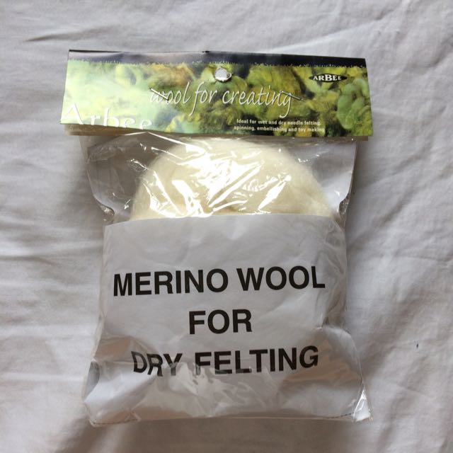 Sense Merino Wool For Dry Felting
