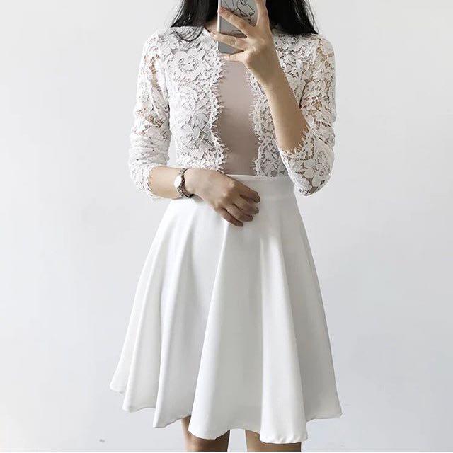 Short Dress Brukat