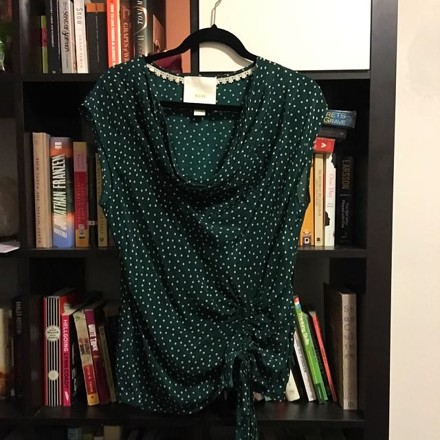 Silk Blouse From Anthropology