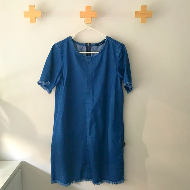 Sportsgirl Size 8 Denim Dress