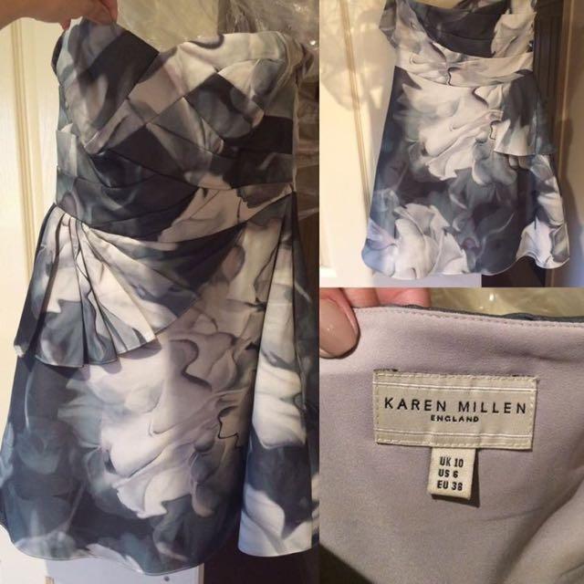 Strapless Karen Millen Dress