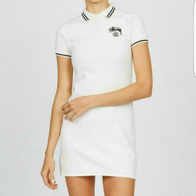 Stussy Polo Tshirt Dress