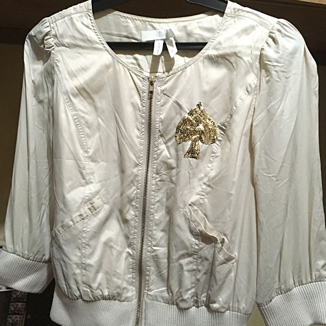 Stylish Jacket With Sequins