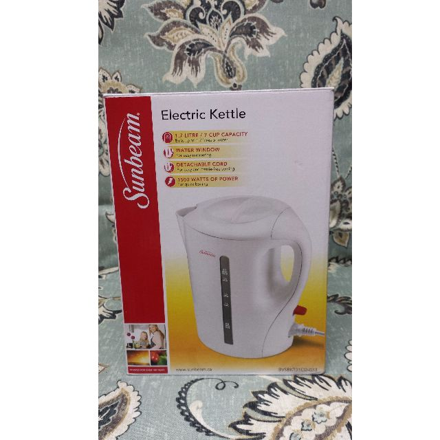 Sunbeam 1.7 Litre Electric Kettle