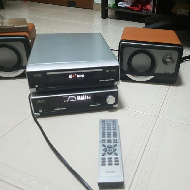 Teac Mini Hifi, Home Appliances, TVs & Entertainment Systems