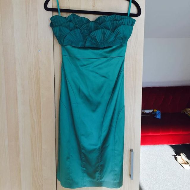 Ted Baker Green Cocktail Dress Size 0