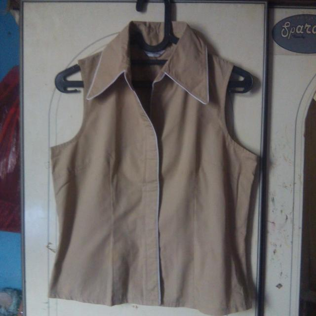 Tengtop Formal Blazer Coklat