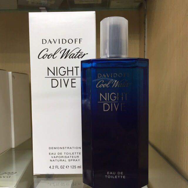 90fa4ecbb3a TESTER) Davidoff Cool Water Night Dive Men Perfume 125ml