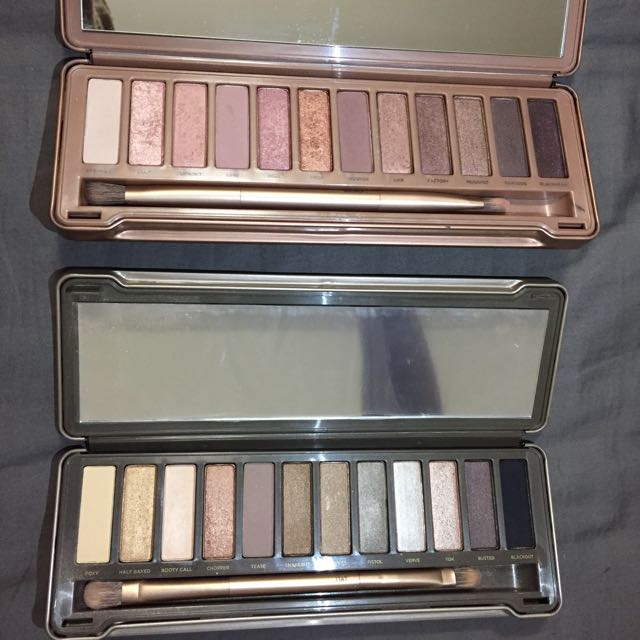 Urban Decay Naked 2 and 3 Palettes