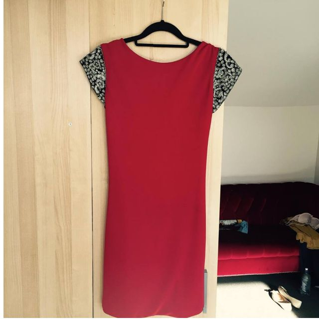 Vicky Martin Red Dress UK8