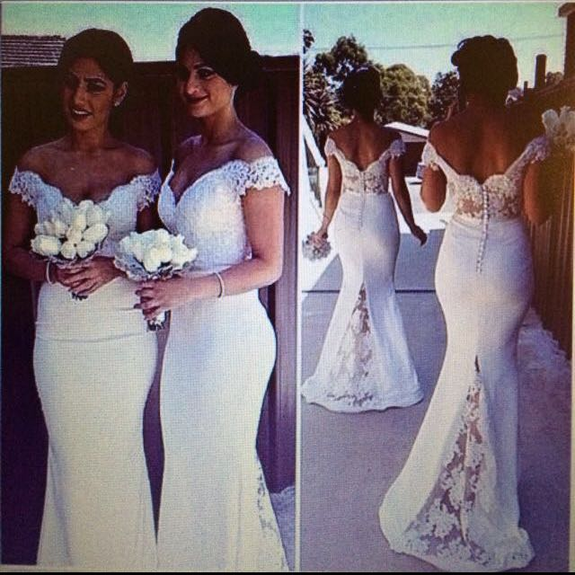 White Formal/ Brides Maid / Wedding Dress