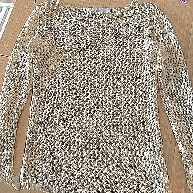Zara Netted Sweater