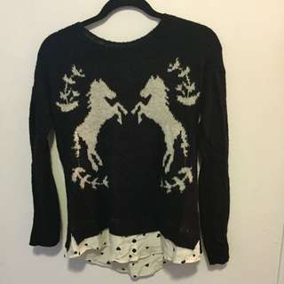 Kenzie Sweater Shirt Size Small