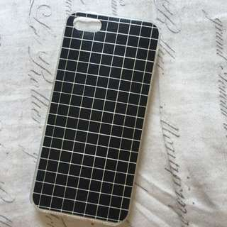 Grid Phone Case For iPhone SE