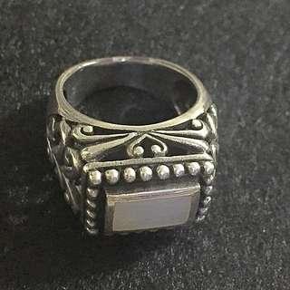 Vintage Silver Ring 925