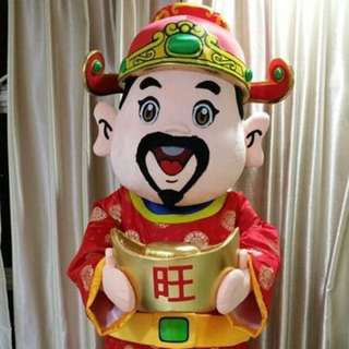 Mascot God Of Fortune