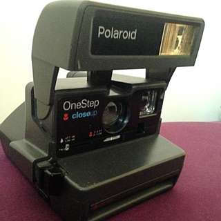 Old School Polaroid Camera