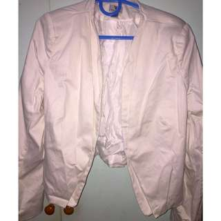 ❤️Pre-loved❤️Worthington Cropped Jacket (Off White)