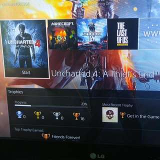PS4 With Tons Of Games!!!