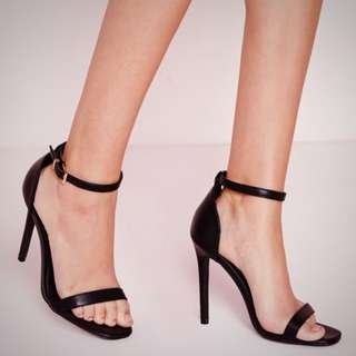 Strappy Heels In Black