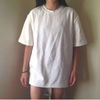 oversized White t-shirt