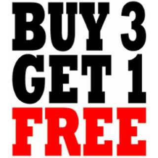 Buy 3 Get Any Item AT 150 FOR FREE; Available For Eastwood Meet Ups ONLY
