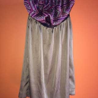 Silk Tommy Hillfigure Dress