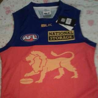 AFL BRISBANE LIONS AWAY JUMPERS (S/M/L)