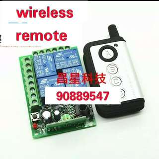 4 Channel Wireless remote Switch Controller For U7 Fog Light & Other Lighting