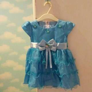 Dress Tutu Biru (1years)