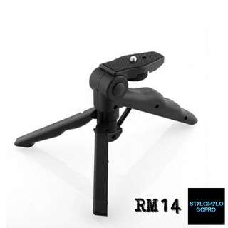 Portable Folding Tripod Stand For GOPRO / SJCAM / ACTIONCAM