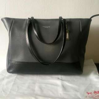 Coach Large City Tote East West